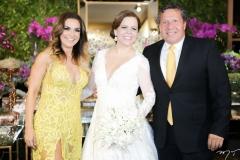 Ana Cristina Pinto, Isabelle Borges e Paulo Roqueirou