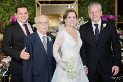 Augusto, Augusto, Isabelle e Bira Borges
