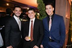 Augusto, Carlos e Pedro Borges