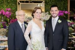 Augusto, Isabelle e Augusto Borges Neto