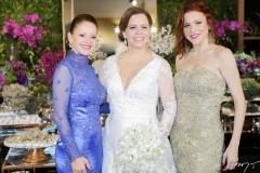 Claudiane Juaçaba, Isabelle e Michelle Borges