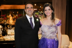 Eudes e Sabrine Fernandes