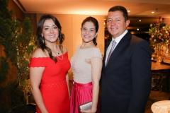Geórgia Bezerra, Daniele e Henrique Fairbanks