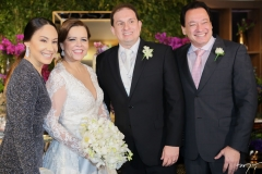 Larissa Coelho, Isabelle Borges, Luiz Claudio e Pedro Coelho Neto