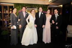 Larissa e Pedro Coelho, Isabelle Borges e Luiz Claudio, Marcela e André Camurça