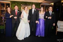 Luciana Maia e Fernando Viana, Isabelle Borges, Luiz Claudio, Sabrine e Eudes Fernandes