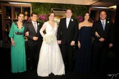 Luciana e Bernardo Granero, Isabelle Borges, Luiz Claudio, Renata e Ênio Pontes