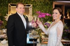 Luiz Claudio e Isabelle Borges