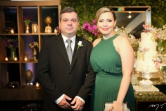 Paulo Salazar e Juliana Lacerda