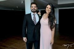 Alexandro Patricio e Mirela Melo