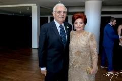 José Wagner e Celia Texeira