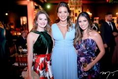 Lise Aragão, Luana Gadelha e Raquel Tales