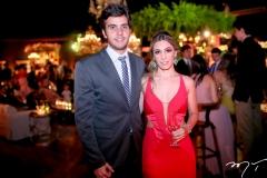 Luis Claudio Ribeiro e Mariane Melo