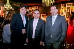 Lula Matos Brito, Fernando Linhares e Marcelo Arrais