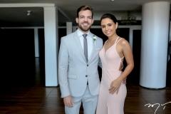 Marcelo Praxedes e Mariana Brasil