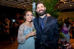 Barbara Freitas e Orlando Lustosa