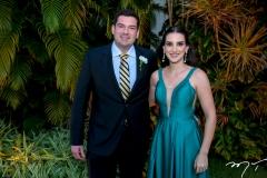 Francisco Abaieté e Larissa Chagas