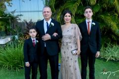 Iuri Castelo Branco, Itamar Araujo, Adriana Castelo Branco e Igor Araujo