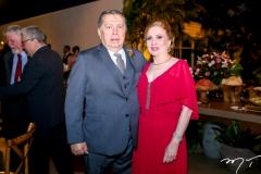 Luis Cesar e Tereza Castelo Branco