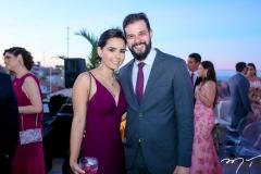 Mariana Brasil e Luiz Camara