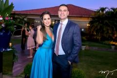 Mayara Castelo e Rafael Araujo