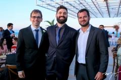 Renato Quinderé, Orlando Lustosa e Renan Melo