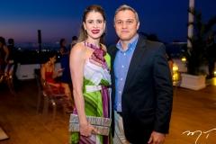 Roberta Queiroz e Savio Maia