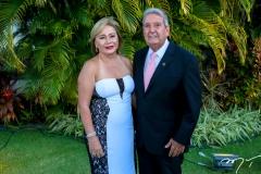 Sandra Studart e Fernando Bezerra