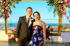 Thomaz Dahas e Marcela Almeida