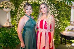 Alessandra Felix e Amanda Martins