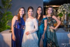 Amanda Alencar, Ligia Antunes, Larissa Luna e Nathalia Rangel