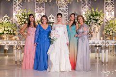 Renata Bruno, Fatima e Ligis Antunes,Barbara Bruno e Nita Silva