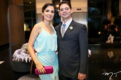 Alina Estefane e Francisco Cardoso