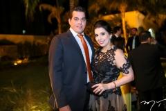 Carlos Dummar e Luana Antero