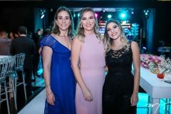 Karine Albuquerque,Amora Luz e Larissa Lima