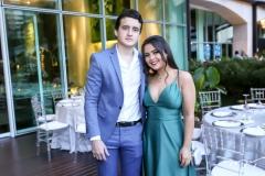 Mateus Gomes e Catarina Linharees