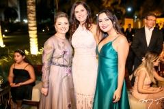 Rosangela Linhares,Edriana Nunes e Catarina LInhares