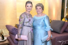 Rosangela e Tereza Linhares