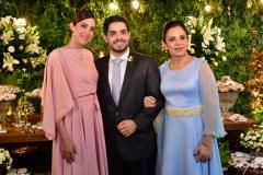 Joana, Fernando Victor e Elusa Laprovitera