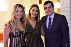 Luciana Silveira, Raiza Bandeira e Paulo Fernandes