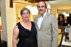 Patricia Campos e Manoel Xavier