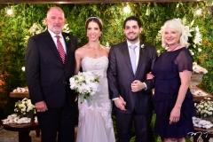 Ron e Wanessa Gootnan e Natércia e Fernando Victor Laprovitera