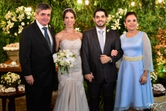 Totonho, Natércia, Fernando Victor e Elusa Laprovitera