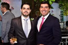 Fernando Victor e Geraldo Laprovitera