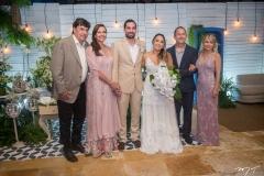 Eliseu, Rose e Rafael Batista, Gabriela Guedes, Eliseu Barroso e Ana Cláudia