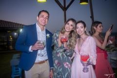 Emerson Mendes, Carolina Silverio e Yasmin Colares