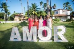 Gabriela Saldanha, Emanuela Paiva, Jailma Costa, Cristiane Bastos e Sandra Santos