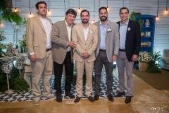 Mateus, Eliseu, Rafael, Bruno e Eliseu Batista