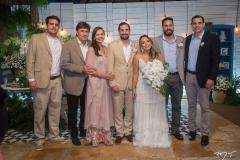 Mateus, Eliseu, Rose, Rafael Batista, Gabriela Guedes, Bruno e Eliseu Batista
