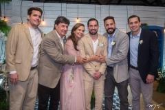Mateus, Eliseu, Rose, Rafael, Bruno e Eliseu Batista